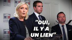 Pour Le Pen, même les attaques commises par des Français sont liées à