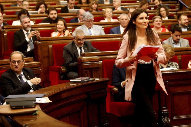 El Parlament debate y vota la moción de censura de CS contra Quim