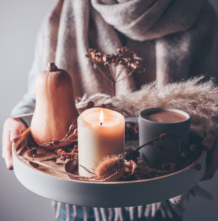 Cozy up your home for fall with this best-selling candle from Etsy.