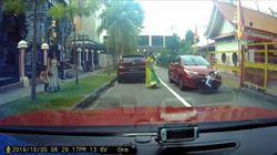 Βίντεο: Αυτοκίνητο περνάει πάνω από αγοράκι κι αυτό επιβιώνει από