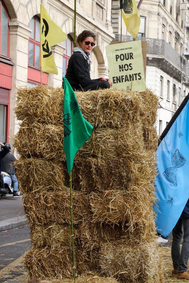 À Paris, les manifestations d'Extinction Rebellion ont aussi su faire preuve d'imagination pour...