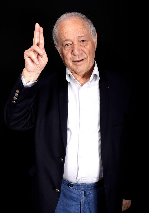 Le journaliste Eugène Saccomano, photographié en 2016, est décédé...