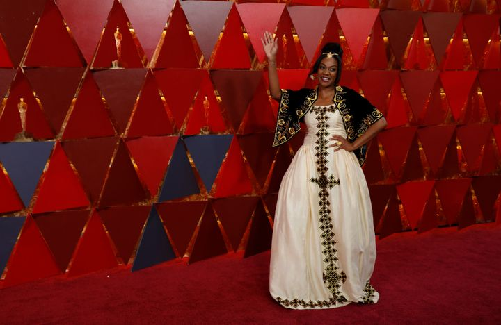 Comedian and actress Tiffany Haddish honored her heritage at last year's Academy Awards by wearing a traditional Eritrea
