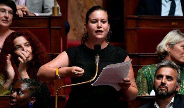Mathilde Panot, ici le 23 juillet à l'Assemblée nationale, dit avoir été...