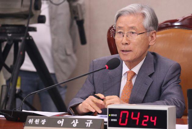 여상규 법사위원장 9월