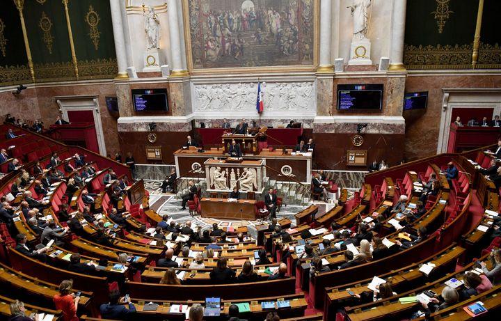 Une photo prise à l'Assemblée nationale le 7 octobre 2019.