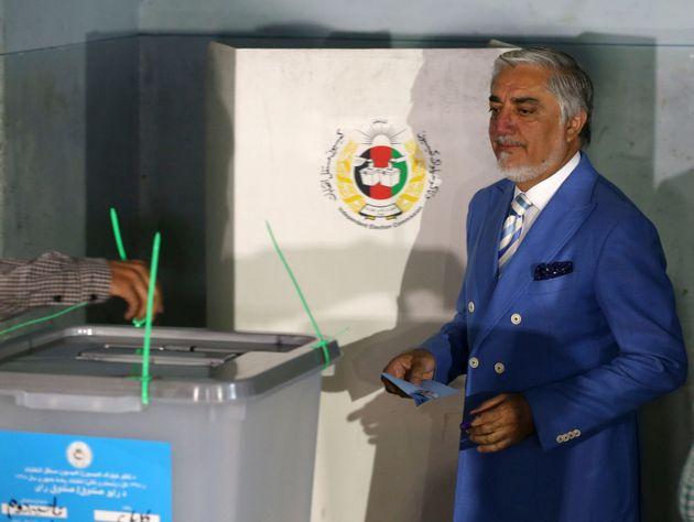 O υποψήφιος πρόεδρος Αμπντουλάχ Αμπντουλάχ.