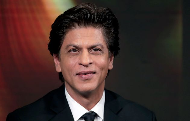 Indian actor Shah Rukh Khan attends a conversation on creating change in India through women's empowerment,...