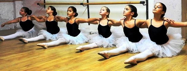 Μαθήματα μπαλέτου στην