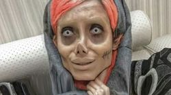 Arrestan a la 'Angelina Jolie iraní' por