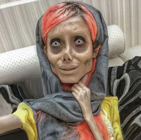 Sahar Tabar, en una imagen tomada de su cuenta de
