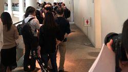 일본 예술제에 다시 전시된 소녀상을 보기 위해 30명 추첨에 709명이 몰린
