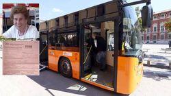 Multata e fatta scendere dal bus a 90 anni perché ha dimenticato il rinnovo