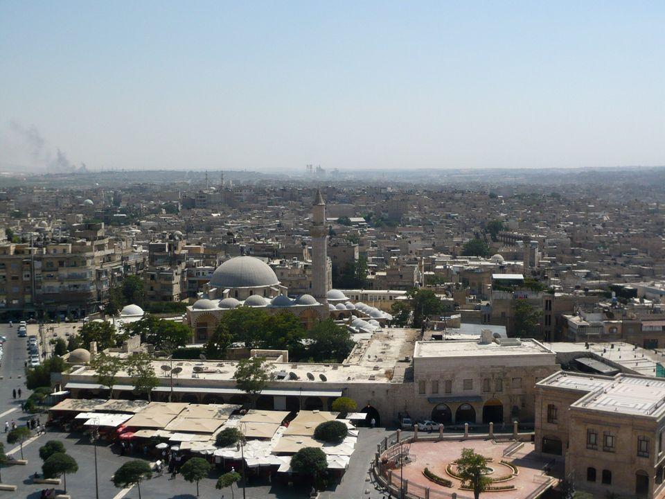Η αλιά πόλη στο Χαλέπι,...