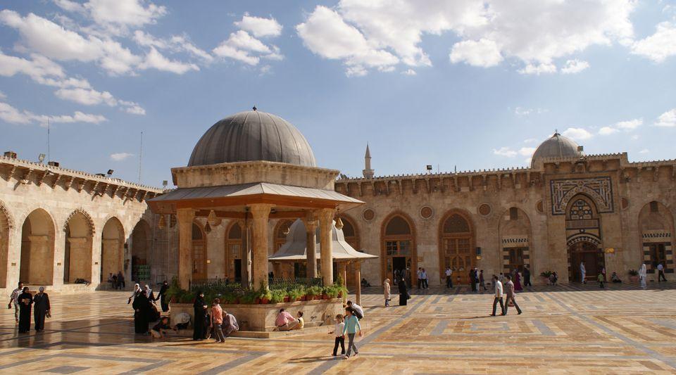 Το ιστορικό τζαμί Ουμαγιάντ,...