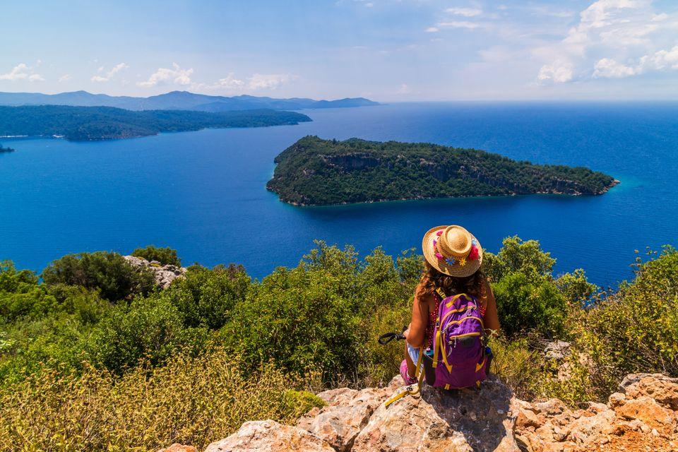 Το νησί Karaca όπως φαίνεται...