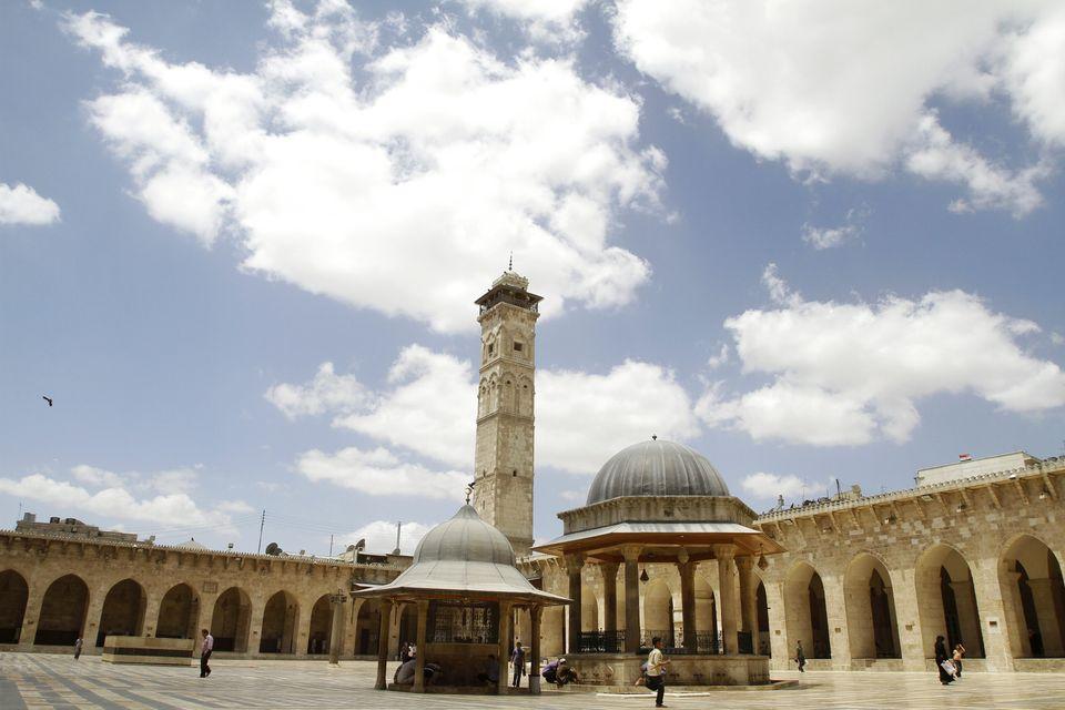 Το μεγάλο Τζαμί στο Χαλέπι,...