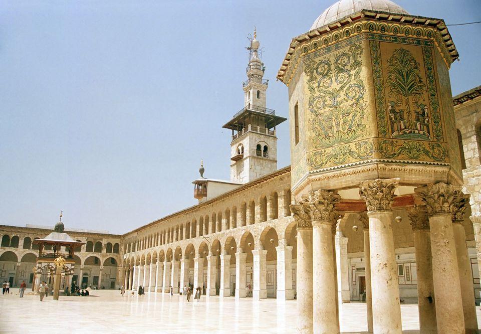 Το τζαμί Ουμαγιάντ, στη