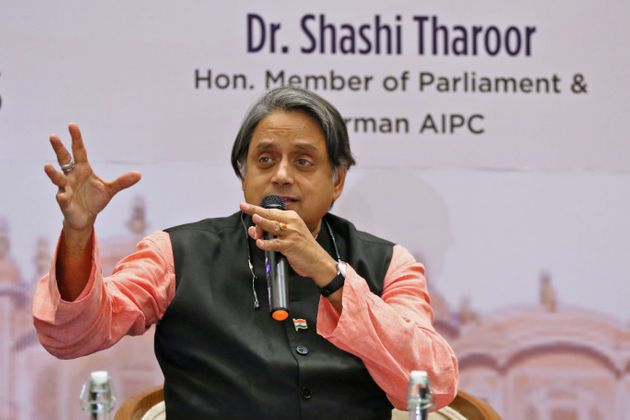 Member of Parliament & Congress Senior Leader Shashi Tharoor during a session on ' India in Crisis'...