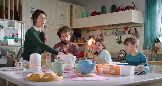 Un'immagine dello spot