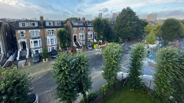 North London Flooding: Street Turned Into River As Burst Water Main Prompts Evacuation