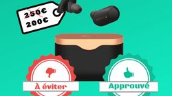 Les écouteurs sans-fil Sony WF-1000XM3 en promo à 200 euros, on valide ou