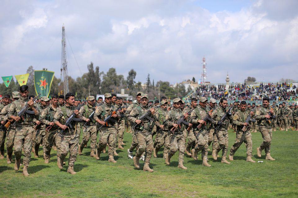 Κούρδοι μαχητές του...