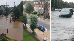 Scoppia la rete idrica e Londra finisce sott'acqua: gli abitanti restano bloccati in casa