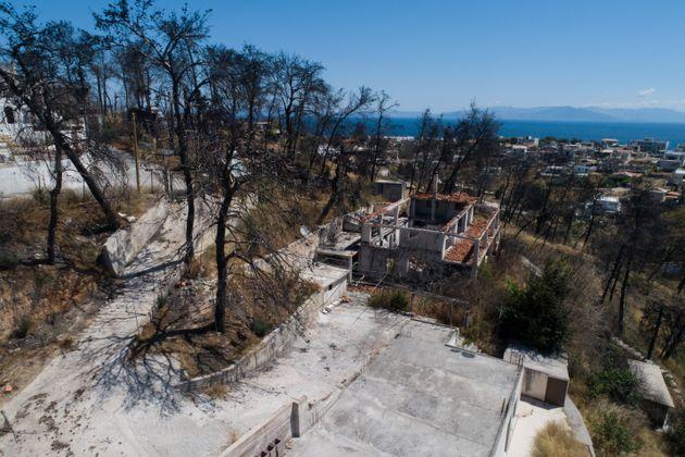 Μήνυση στην Εισαγγελία του Αρείου Πάγου για τη φωτιά στο Μάτι από τη χήρα της οικογένειας