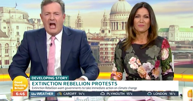 Piers Morgan on Good Morning