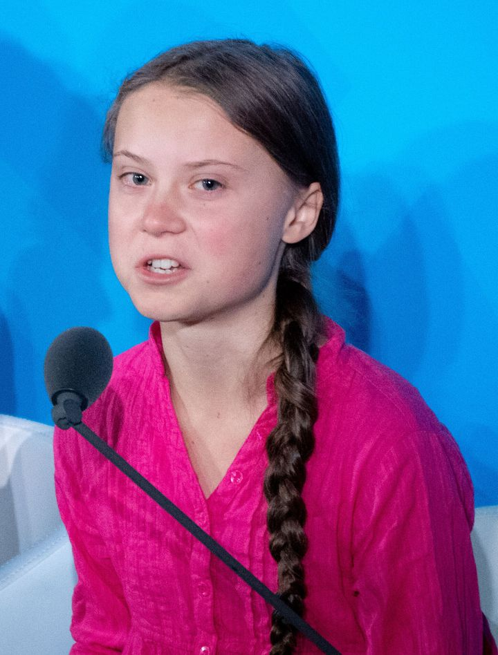Greta Thunberg speaks at the United Nations Climate Change Conference