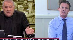 Pocas veces un político ha hablado tan claro como lo ha hecho Valls a Ferreras sobre Cs: