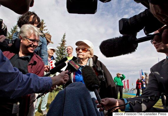 Florence Storch, 102-Year-Old Alberta Javelin Thrower,