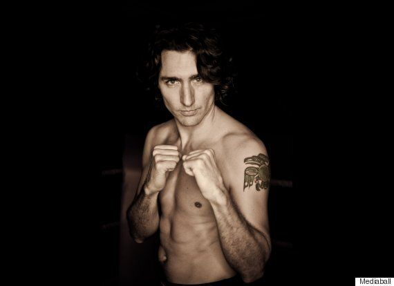 Justin Trudeau Tattoo Of Haida Raven Is