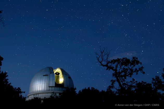 L'observatoire de Haute-Provence, d'où a eu lieu la détection de la première exoplanète, récompensée...
