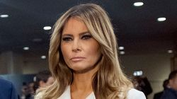 Melania Trump Said She's 'Dedicated To Helping Children,' And It Didn't Go So