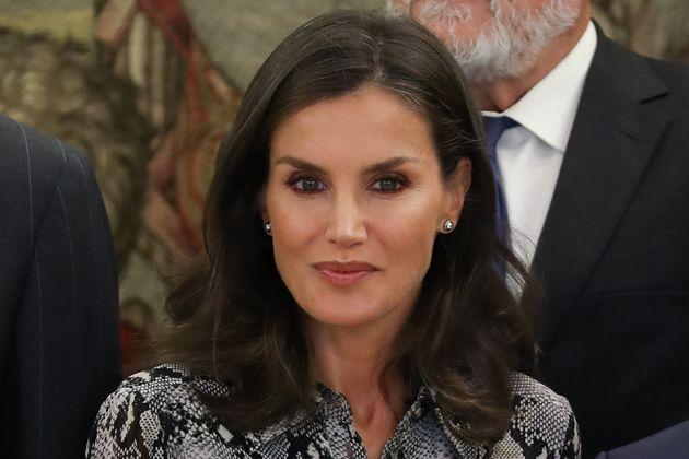 La reina Letizia, el 8 de octubre de 2019 en
