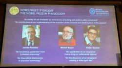 Du Big Bang aux exoplanètes: le Nobel de physique à deux Suisses et un