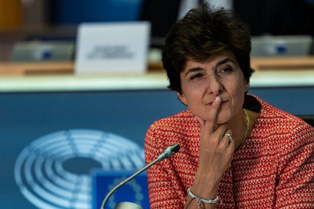 Sylvie Goulard, candidate française à la Commission européenne,a exclu de...