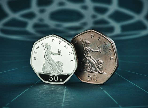 50 Years Of The 50p: How To Buy The Royal Mints Commemorative Coin