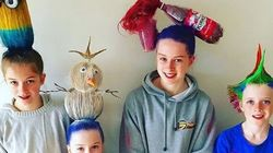Parents Who Take 'Crazy Hair Day' To A Whole New