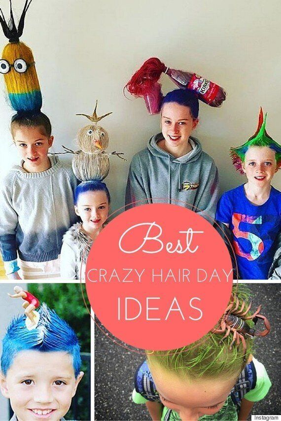 Crazy Hair Day Ideas: These Parents Take Things To A Whole New