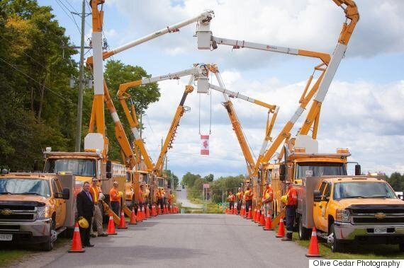 Peterborough Utilities Workers Pay Heartwarming Tribute To Late Colleague, Ed