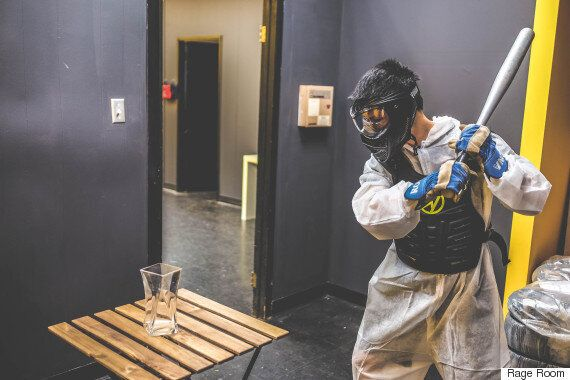 Toronto's Rage Room Is Exactly What It Sounds