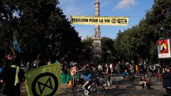 Comment Extinction Rebellion, un groupe de