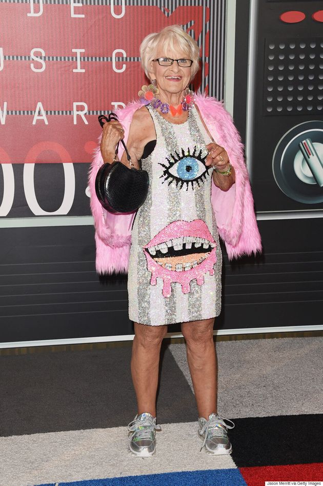 Baddie Winkle's MTV VMA 2015 Dress Is As Loud And Crazy As You'd