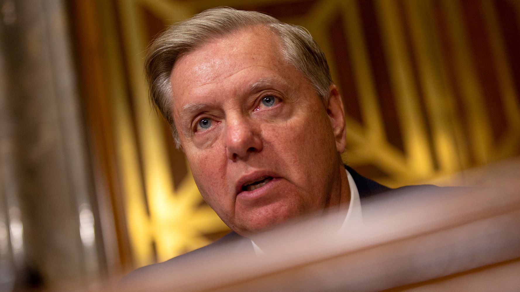 Westlake Legal Group 5d9cc6e8210000420733ce7c Lindsey Graham Vows 'Sanctions From Hell' On Turkey If It Invades Syria