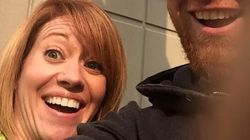 Couple Celebrates Divorce With Smiling, Happy
