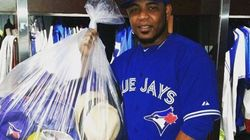 Encarnacion's 'Hat Trick' Earns Fan