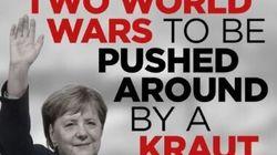 «Δεν θα μας κάνει κουμάντο μία κ@λογερμανίδα»: Το χυδαίο μήνυμα των υποστηρικτών του